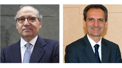 Antonio Hernández Callejas (Ebro Foods) e Luigi Lana (Reale Group), Premio Tiepolo 2018