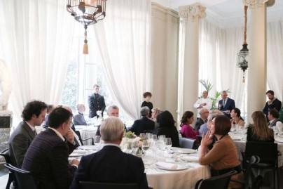 Almuerzo en la Embajada Italiana elaborado por el chef PINO CUTTAIA-48