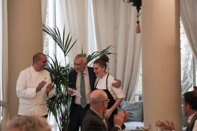Almuerzo en la Embajada Italiana elaborado por el chef PINO CUTTAIA-80