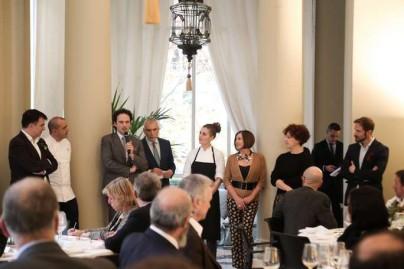 Almuerzo en la Embajada Italiana elaborado por el chef PINO CUTTAIA-83