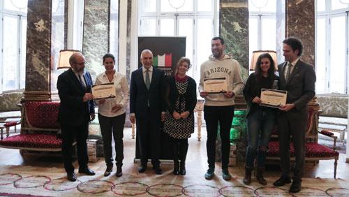 Jóvenes talentos para la promoción de la cocina italiana