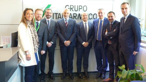 La CCIS e l'Ambasciata d'Italia visitano la sede di Italfarmaco SA ad Alcobendas