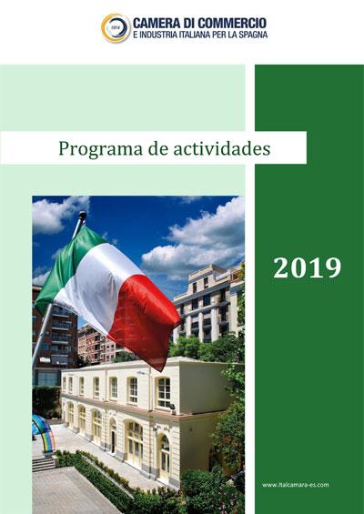 Programa actividades 2019
