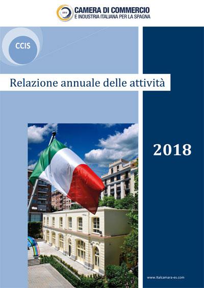 Relazione annuale delle attività 2018