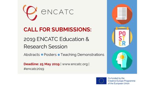 Convocatoria de presentación: 2019 ENCATC Educación e investigación Sesión