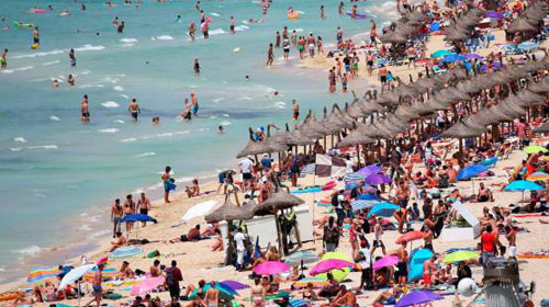 España: crece el gasto del turismo interno