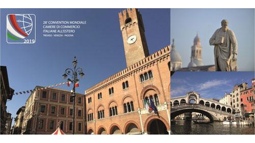 Il Veneto ospiterà la XXVIII Convention delle Camere di Commercio Italiane all'Estero
