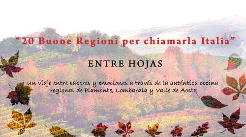 Piamonte, Lombardía y Valle de Aosta protagonistas de la primera cena sensorial para descubrir la auténtica cocina regional italiana
