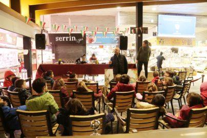 1Showcookings para los niños de la Scuola Materna Italiana de Madrid