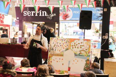 5Showcookings para los niños de la Scuola Materna Italiana de Madrid
