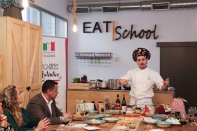 76Masterclass de presentación de productos italianos bío y eco