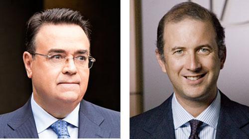Marco Alverà (Snam) e Antonio Llardén (Enagás), Premio Tiepolo  2019