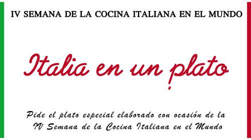 """Éxito de la iniciativa """"Italia en un plato"""""""