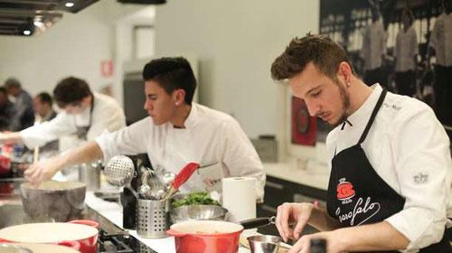 """Tercera edición del concurso """"Prepara tu futuro. Jóvenes talentos de la cocina italiana"""""""
