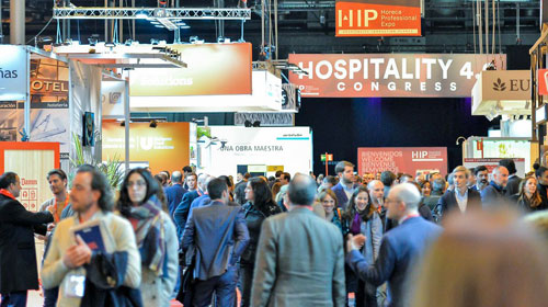 Presenza italiana alla fiera HIP di Madrid