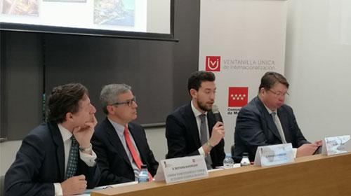 La CCIS en la jornada de presentación de los mercados europeos organizada en Madrid