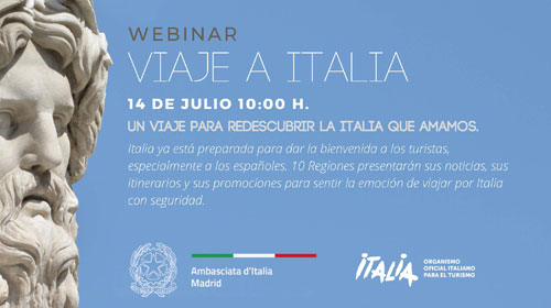 "Webinar ""Viaje a Italia"""