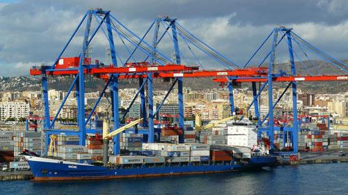 Il Traffico portuario in Spagna comincia a mostrare segni di recupero