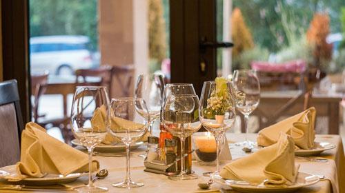 La ristorazione rende omaggio ai suoi clienti