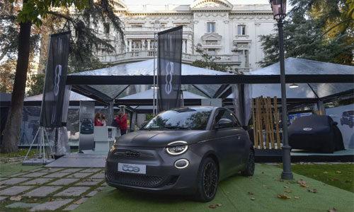 """Presentado en Madrid el nuevo 500 eléctrico, """"el coche que renace"""""""