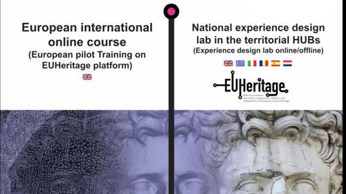 Incontro con esperti in patrimonio culturale nell'ambito del progetto EUHeritage