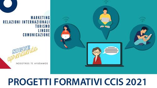 La CCIS lancia nuovi percorsi formativi online per studenti italiani