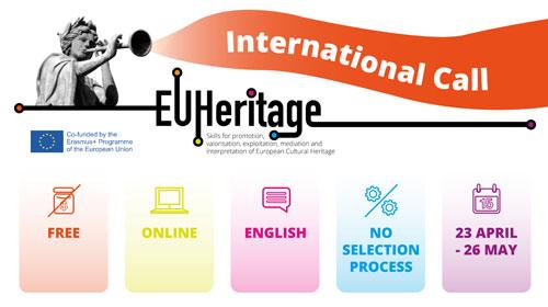 Piattaforma di apprendimento EU Heritage: programmi formativi sul patrimonio culturale