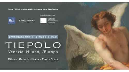 Sul sito delle Gallerie d'Italia del nostro socio Intesa Sanpaolo un tour virtuale della mostra su Tiepolo