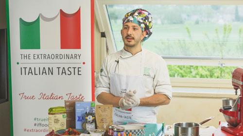 """Il biologico """"True Italian taste"""" protagonista della masterclass dello chef Luca Gatti"""