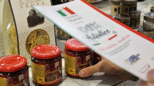 """Una rete di negozi """"True Italian Taste"""""""
