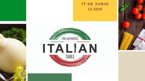 "Un showcooking literario para celebrar ""The Authentic Italian Table"""