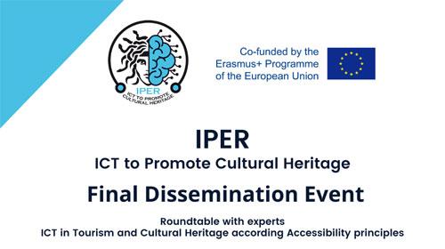 Evento final del proyecto europeo IPER – 15 de julio, 12:00 h
