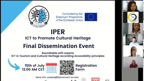 Evento final de difusión del proyecto IPER