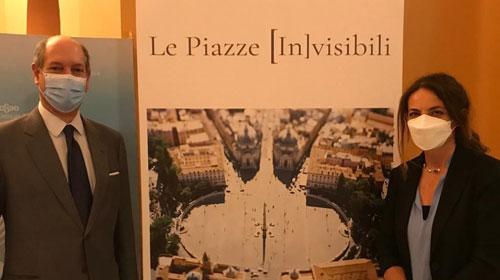 Exposición en Sevilla: un viaje por la belleza de las plazas italianas