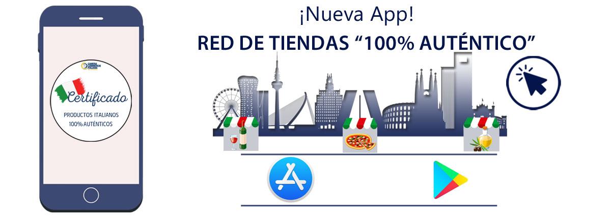 App 100% Auténtico