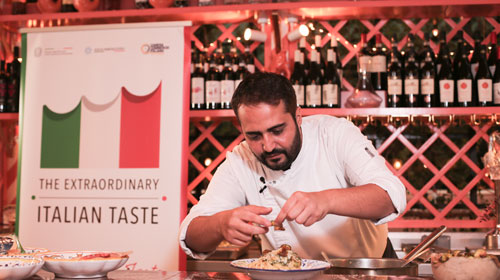 """Masterclass """"True Italian Taste"""" del chef Ciro Cristiano"""