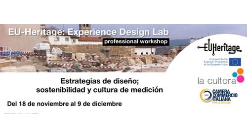 """Taller profesional: """"Estrategias de diseño; sostenibilidad y cultura de medición"""""""